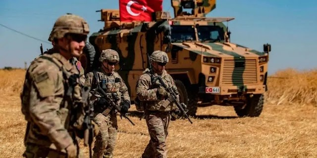 Τουρκικά τεθωρακισμένα οχήματα «εξαερώνονται» στην Συρία μετά από ενέδρα του συριακού Στρατού (BINTEO)
