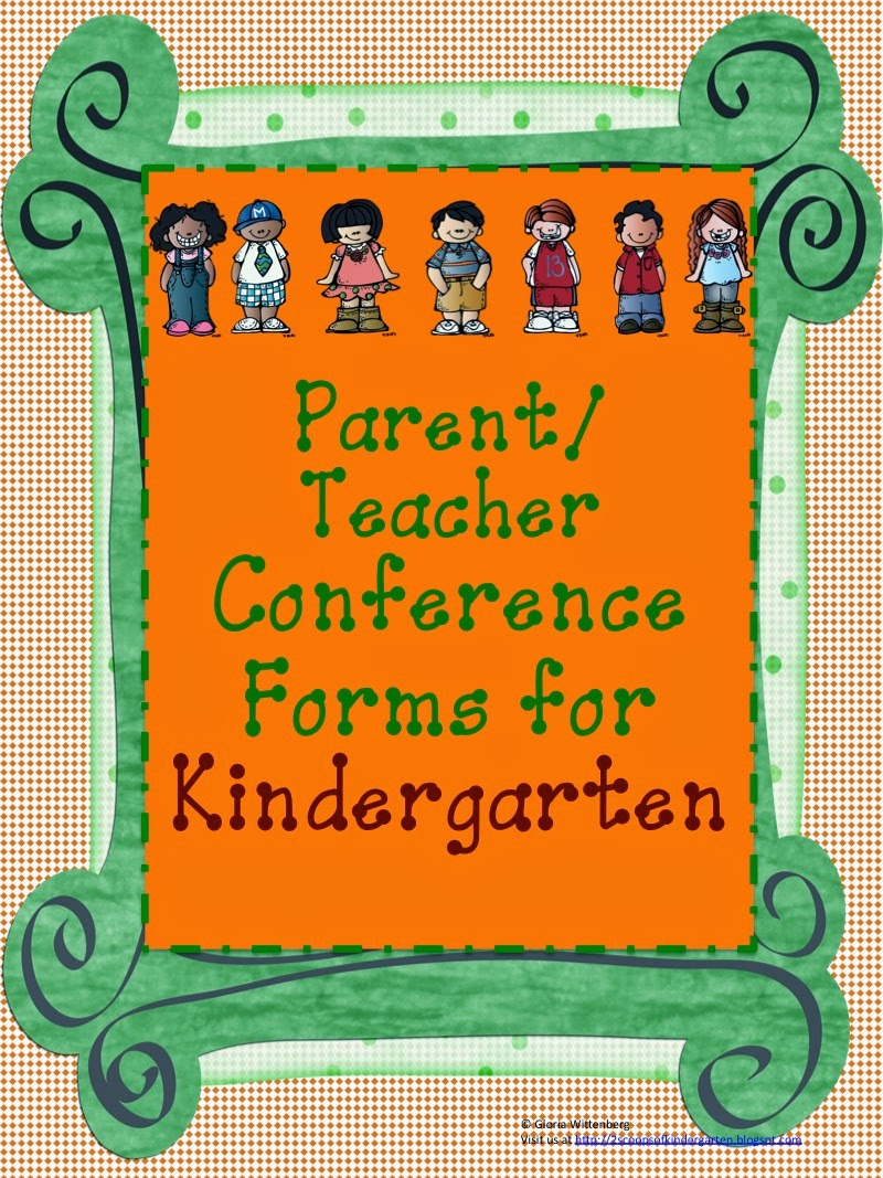 http://www.teacherspayteachers.com/Product/Kindergarten-Parent-Teacher-Conference-with-Common-Core-SS-913581