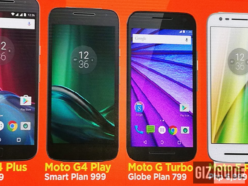 Moto G4 Play And Moto G Turbo Will Be Available At Smart And Globe Respectively!