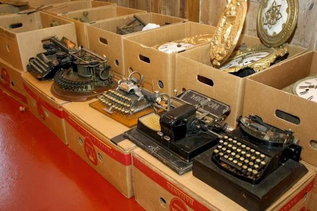 antiguas máquinas de escribir