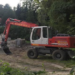 Baustelle in Schondorf am Ammersee