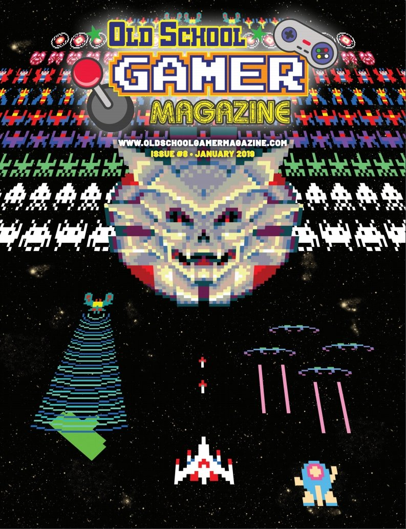 Brett Weiss: Words of Wonder: Old School Gamer Magazine