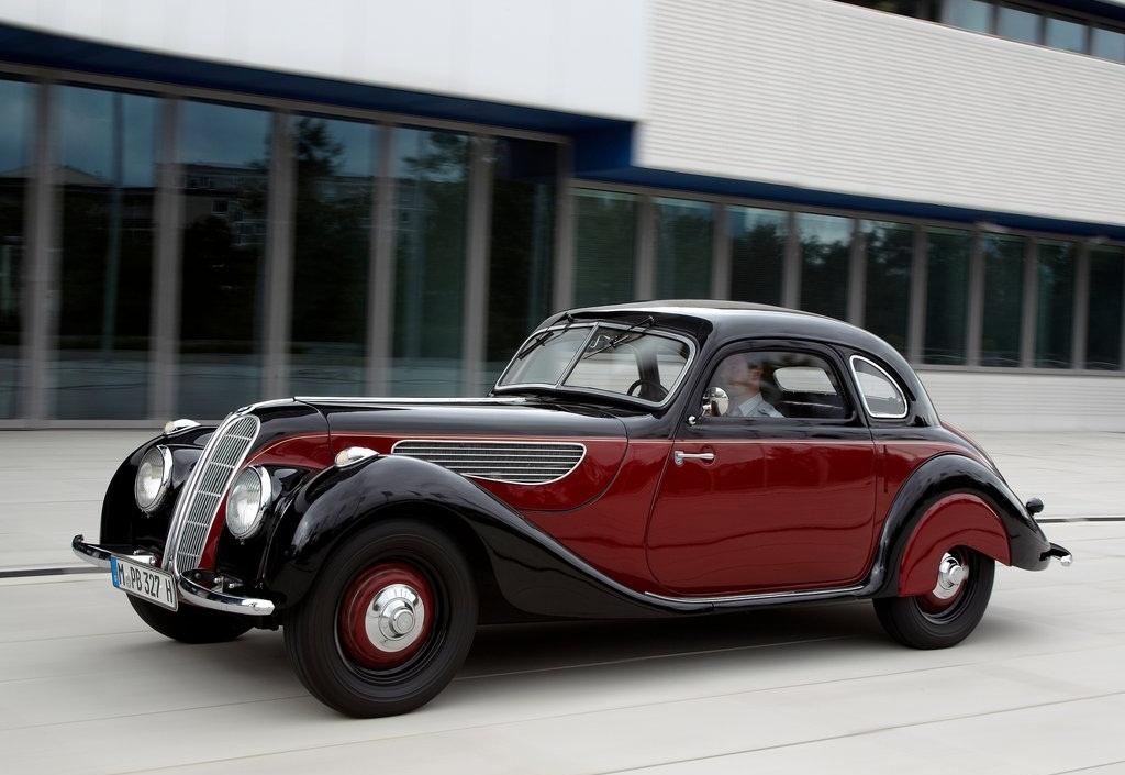 bmw fuel efficient car: 1937 BMW 327 Coupe