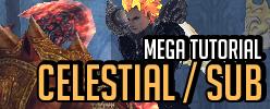 Celestial e Sub Celestial - Criar, refinar capa, destravar level e resetar