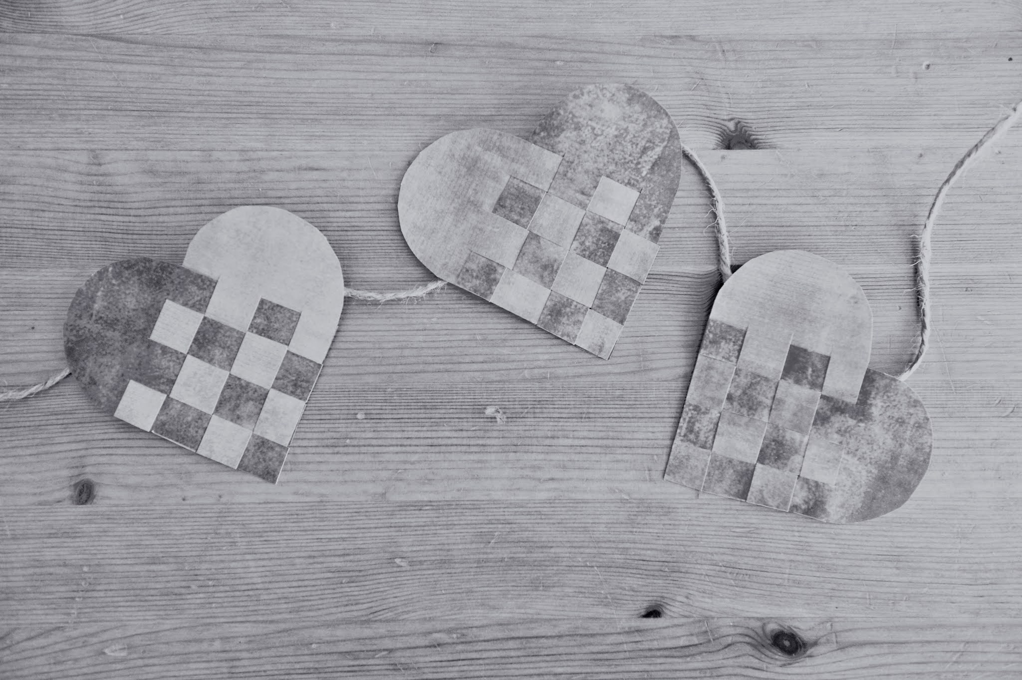 Swedish Paper Heart Template