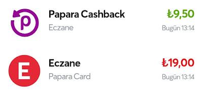 Eczane Ödemelerinde Papara Cashback Özelliğinden Yararlanmak