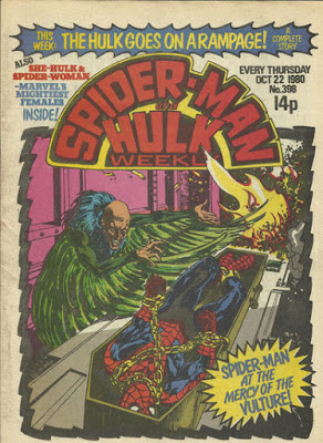 Spider-Man and Hulk Weekly #398 , the Vulture