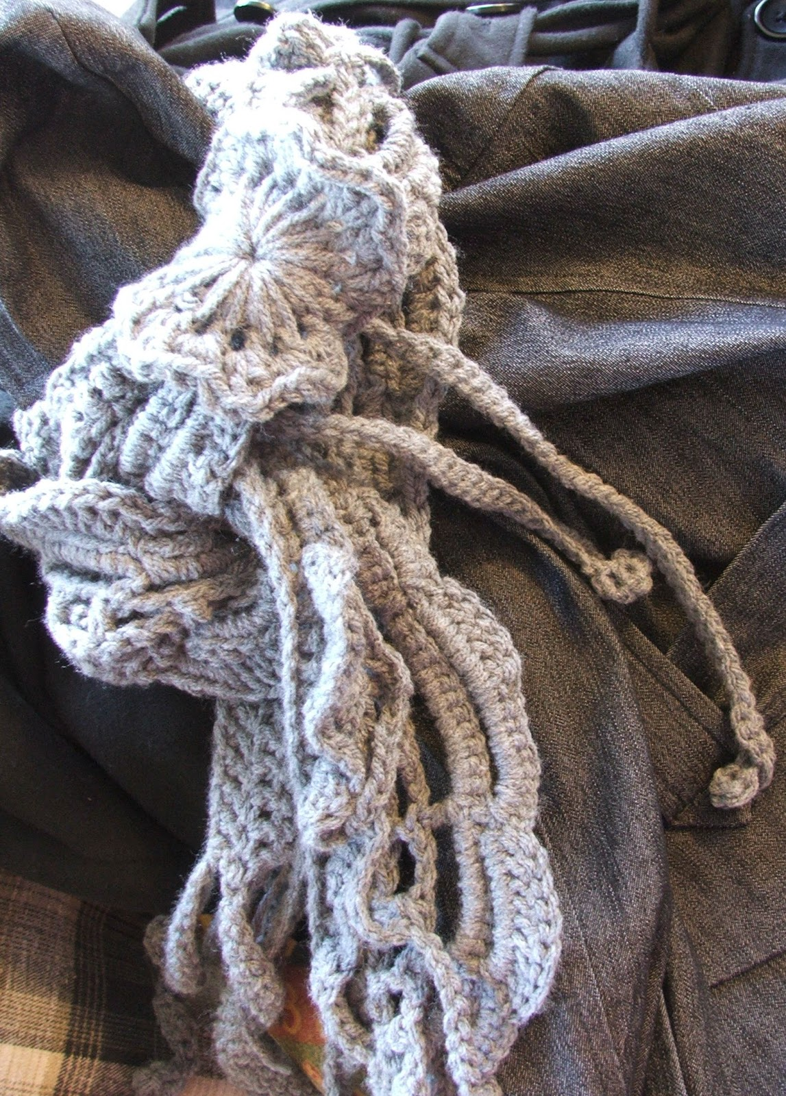Susan's Hippie Crochet: How to Weave a Scarf, Free Scarf ...