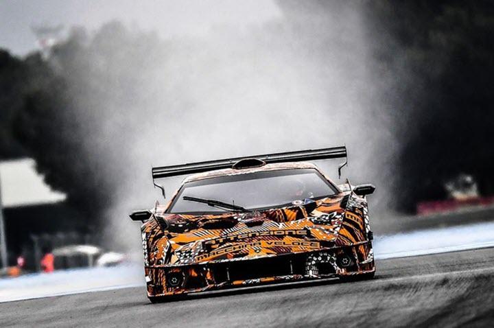 Lamborghini SCV12 - siêu xe trường đua công suất 830 mã lực