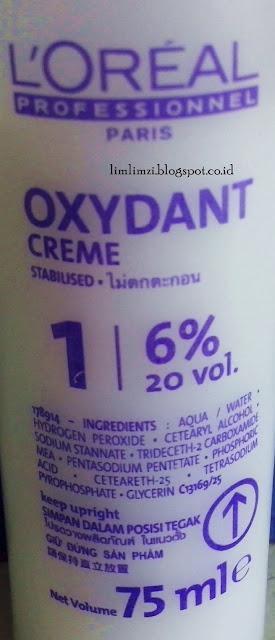 L'OREAL Oxydant Creme developer
