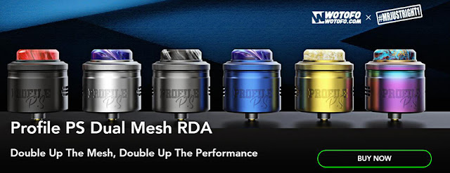 Introduction of Wotofo Profile PS Dual Mesh RDA