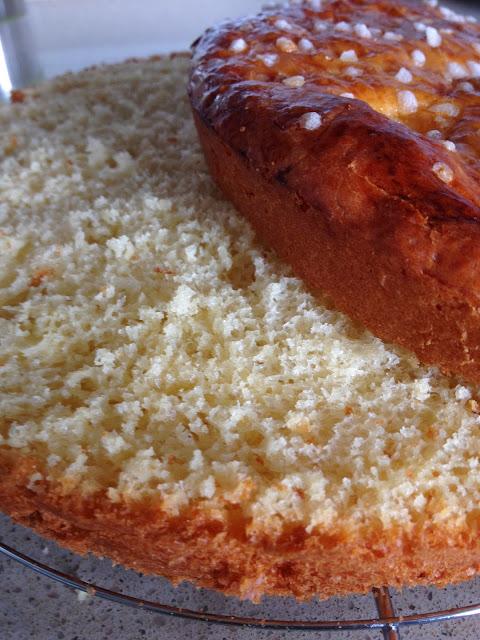 Sweet Kwisine, tarte tropézienne, brioche, crème pâtissière