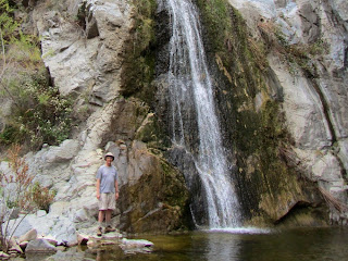 Dan Simpson at Fish Canyon Falls, March 22, 2014