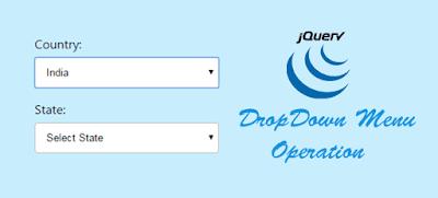 Jquery Drop Down Menu Operation