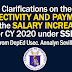 Effectivity and Payment of the Salary Increase CY 2020