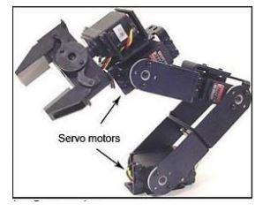Motor Servo Sebagai Penggerak atau Penjepit pada Arm Robot