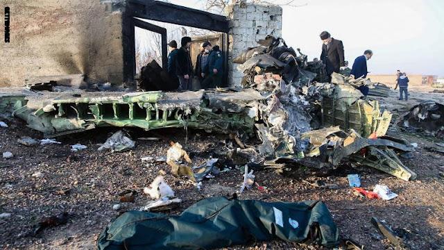 """أوكرانيا تضع """"الإصابة بصاروخ"""" ضمن احتمالات سقوط طائرتها في إيران"""