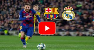 لايف بث مباشر الكلاسيكو الأسباني اليوم 1 مارس 2020 يلا شوت حصري الجديد | مشاهدة مباراة برشلونة وريال مدريد بث مباشر بتاريخ 1-3-2020 في الدوري الاسباني دون تقطيع