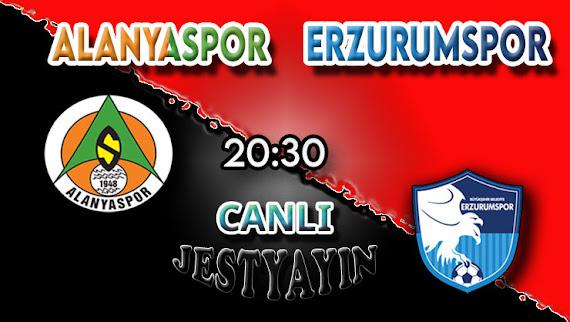 Alanyaspor – BB Erzurumspor canlı maç izle