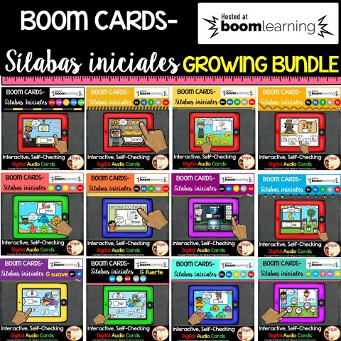 BOOM Cards Sílabas iniciales-Beginning Syllable Sounds