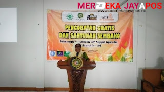 RS PKU Aisyiyah Jepara Gelar Pengobatan Gratis Dan Pembagian Sembako