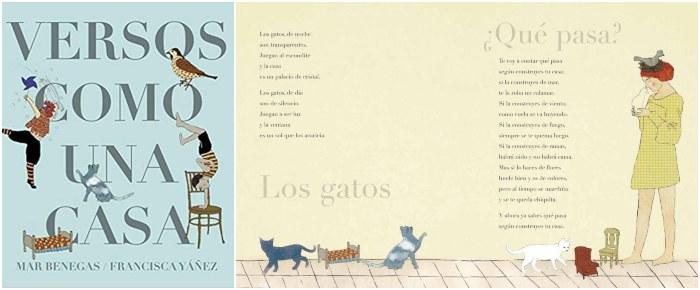 mejores libros de poesía infantil para niños, versos como una casa mar benegas