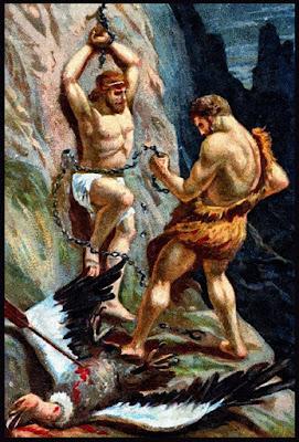 Heracles liberando a Prometeo