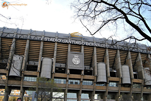 santiago bernabeu, stadio real madrid, Madrid, cosa vedere a madrid, itinerario a madrid, due giorni a Madrid, blogger madrid