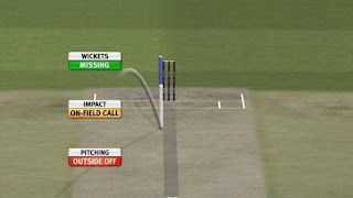 Hawk eye in cricket