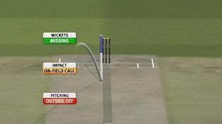 Hawk eye in cricket