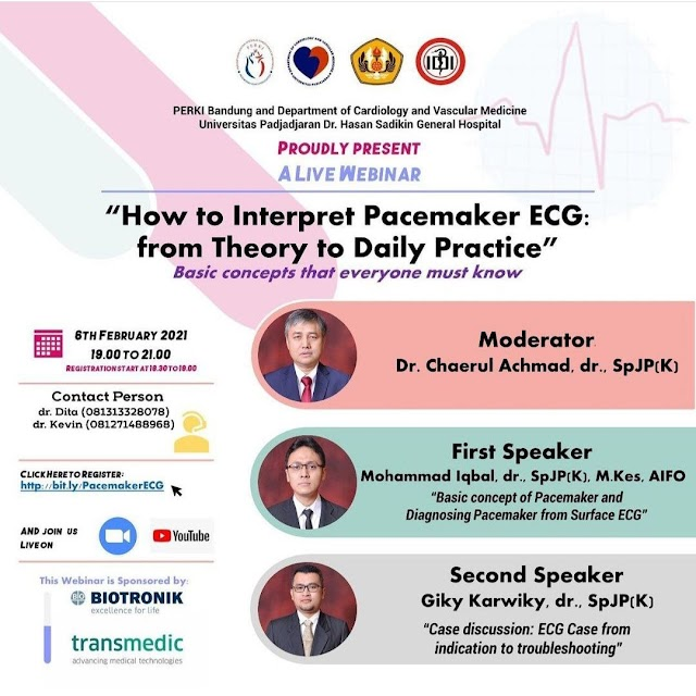 "Free Webinar   ""How to Interpret Pacemaker ECG: from Theory to Daily Practice"""