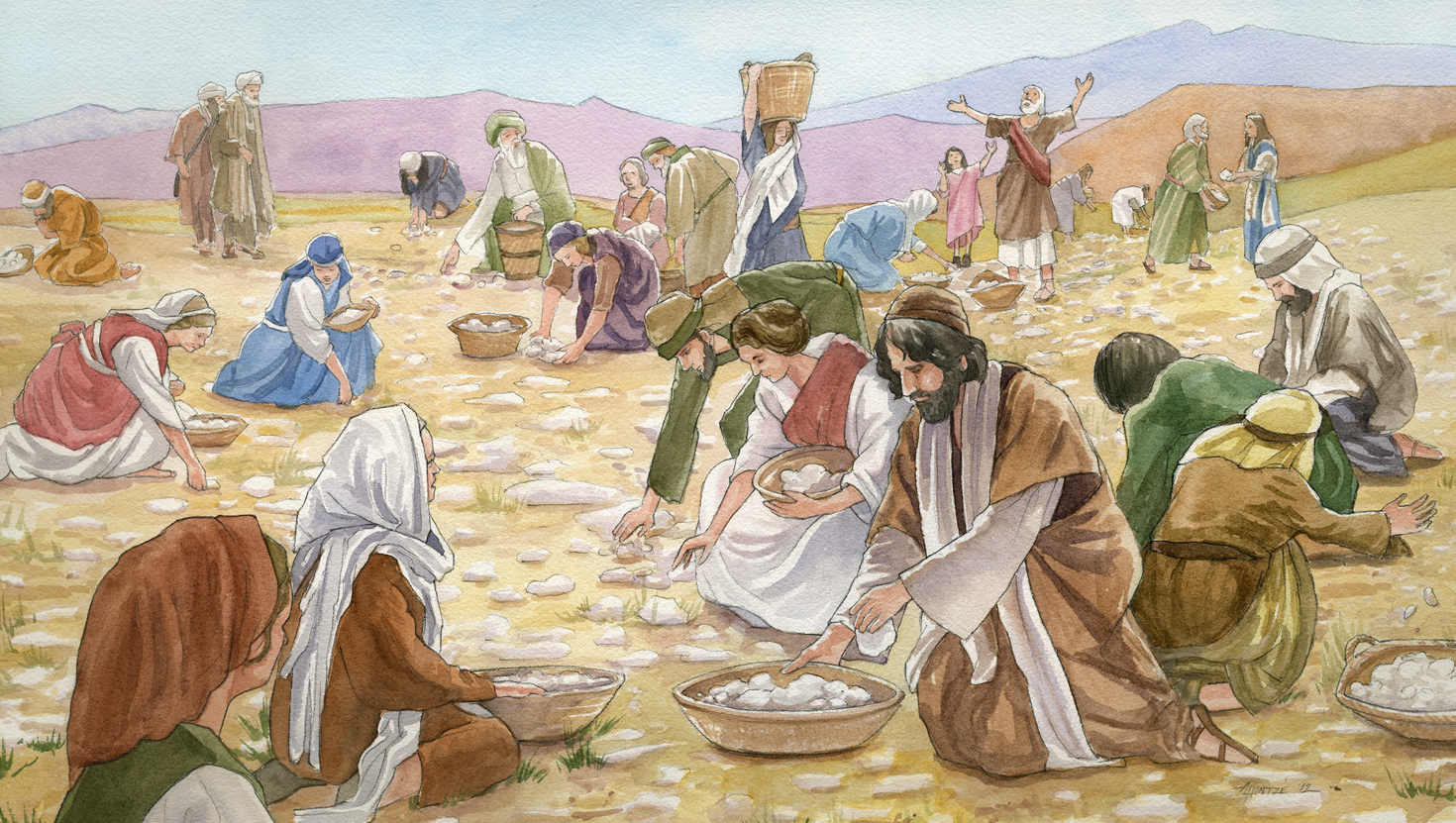 Ten Minutes Of Talmud Another Take On Manna
