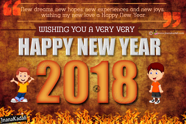 2018 new year greetings in english, happy new year online wishes quotes, english new year scraps