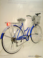 4 City Bike Phoenix Fashion 6 Speed Shimano 26 Inci