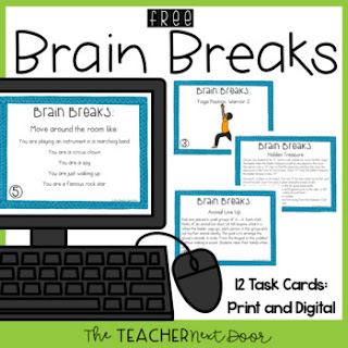 Free Brain Breaks Print & Digital