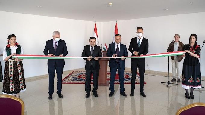 Tádzsikisztánban nyitott konzulátust Szijjártó Péter