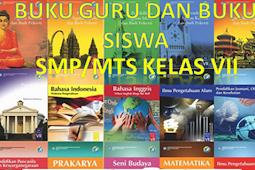 Buku Guru Dan Siswa KK 2013 Semua Mata Pelajaran Kelas VII SMP/MTs Revisi 2017