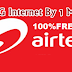 Airtel Loot Offer: Get 1Gb Free 4G Internet Data By Only 1 MissCall