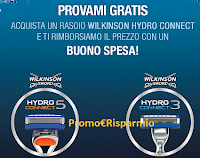 Logo Wilkinson Hydro Gratis: provalo gratis e ricevi il rimborso con un buono spesa