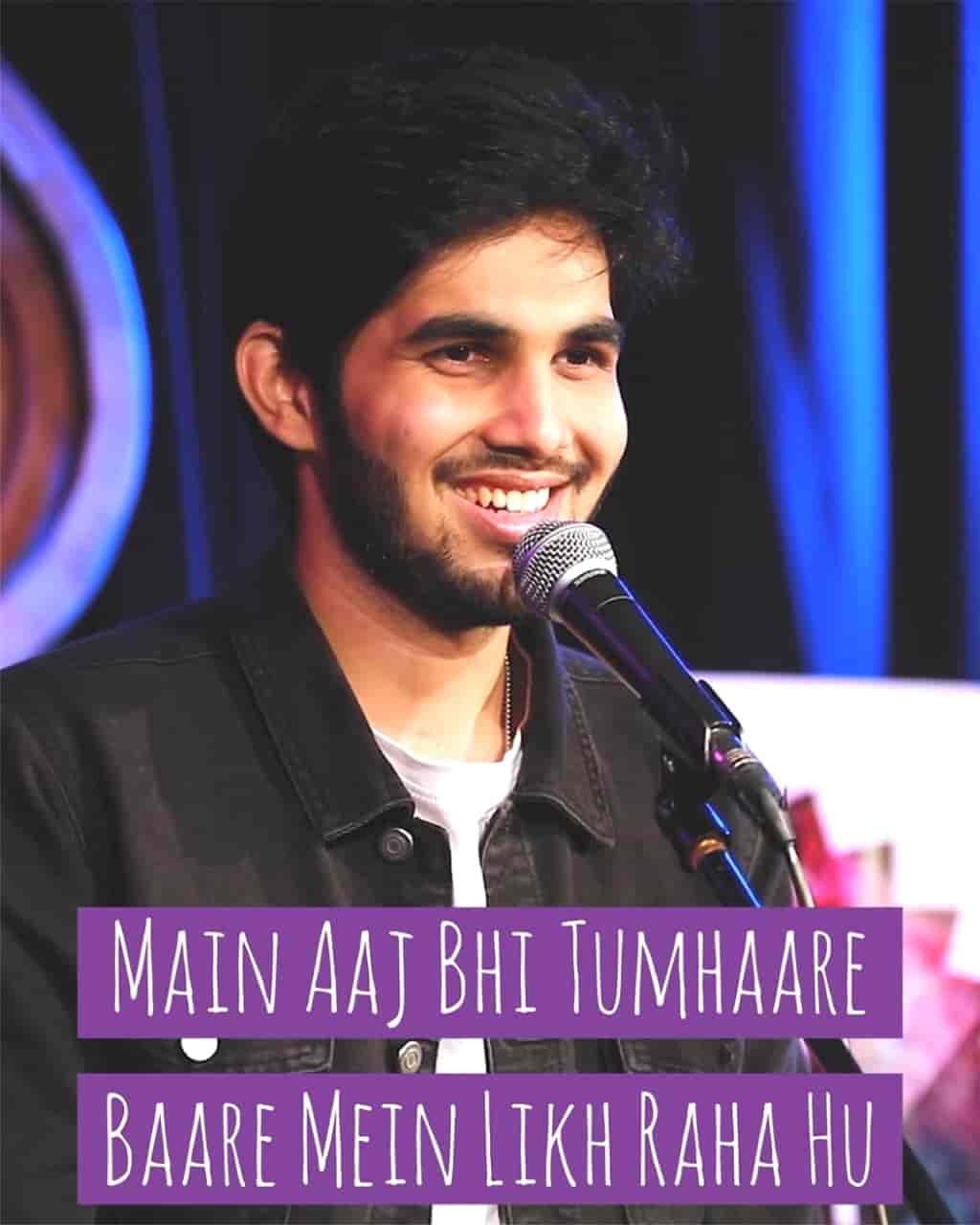 About This Poetry :- This Beautiful Love Poetry 'Main Aaj Bhi Tumhaare Baare Mein Likh Raha Hu' which is written and performed by Yahya Bootwala and Published this poetry in his own YouTube channel Yahya Bootwala Official.