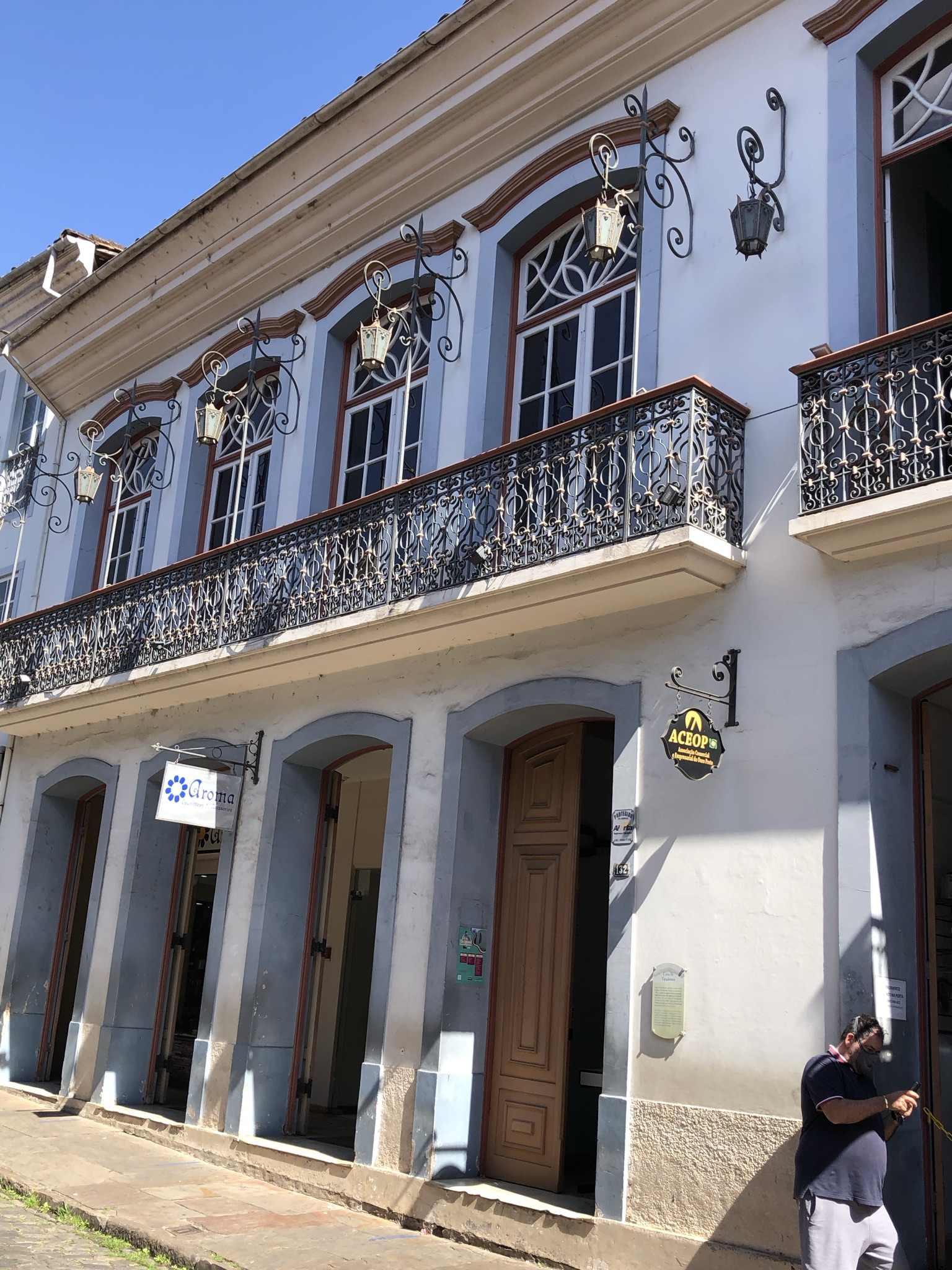 Local onde foi casa de Tiradentes