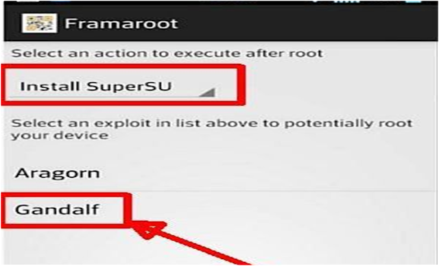 Cara 3# Root Android