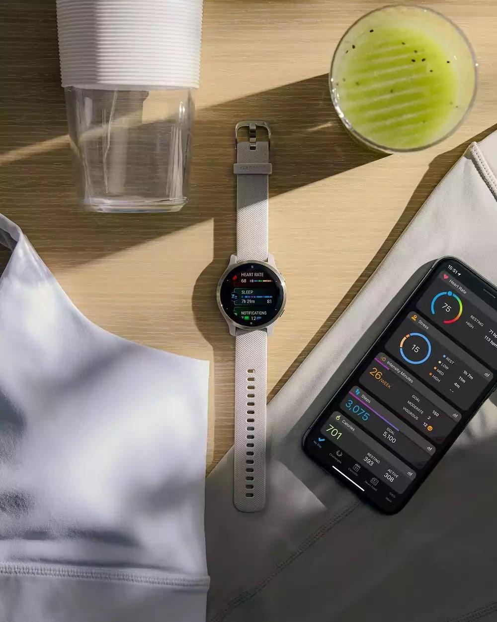 Garmin Venu 2S GPS Smartwatch