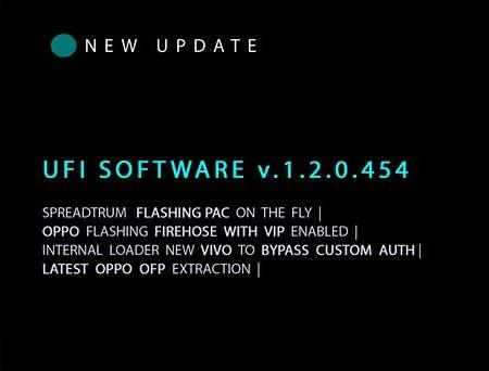 UFI Software V.1.2.0.454