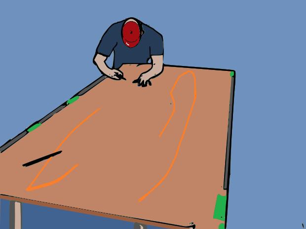 realizzare-piccola-canoa-cartone-per-piscina