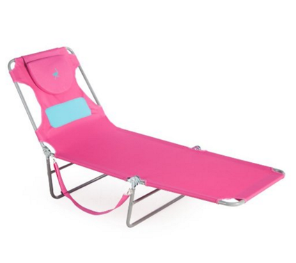 Ostrich Ladies Comfort Lounger, Pink