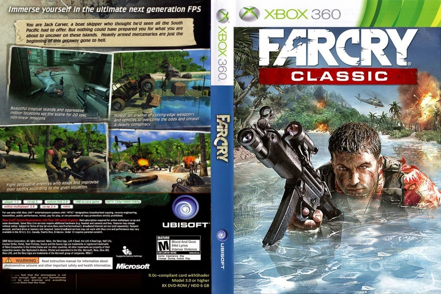 The Ultra Compressed Farcry Classic Xbox