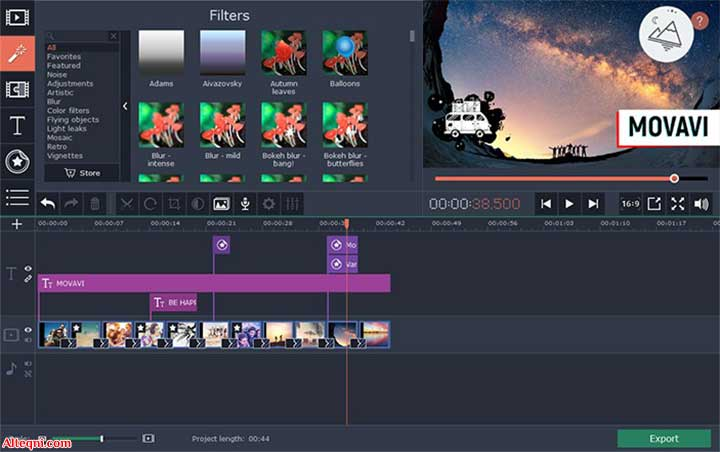 برنامج تحرير الفيديو موفافي بورتابل