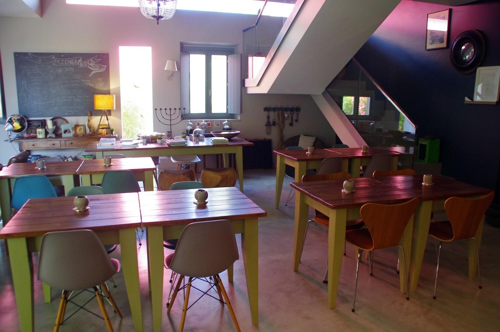 Breakfast room at Fazenda Nova Country House