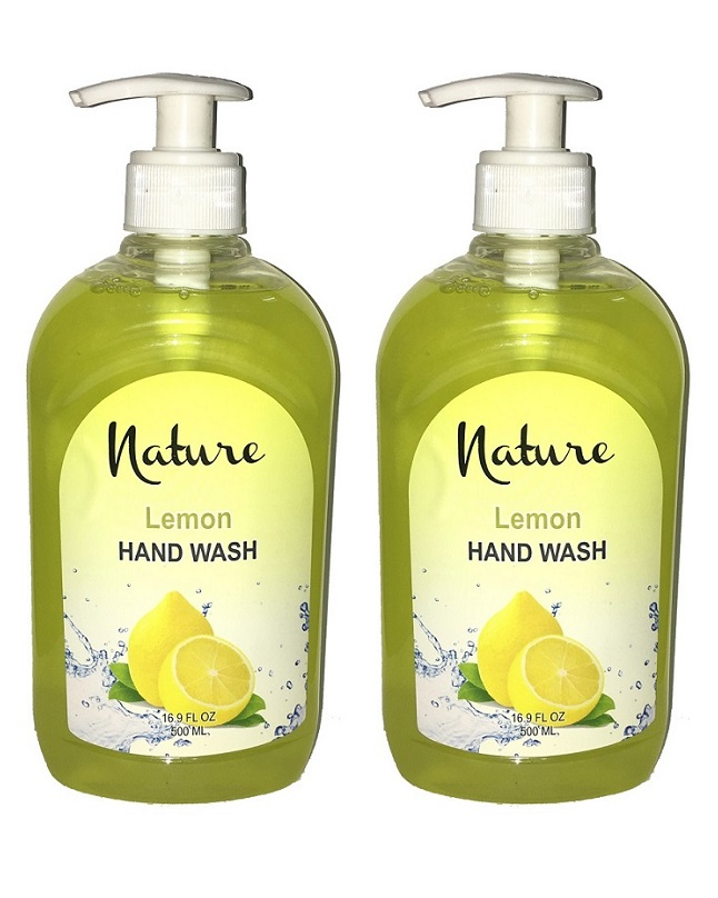 Pack Of 2 - Nature Lemon Hand Wash 500 ml